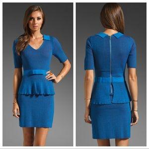 Nanette Lepore Empress Rib Knit Sweater Dress